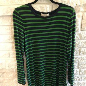 Michael Kors tee shirt stripped dress